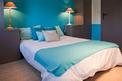 la chambre nuptiale chambre en bleu et blanc