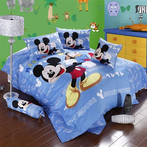 Mickey Mouse Bedding Set by Cutest Mickey Mouse Bedding For And Adults