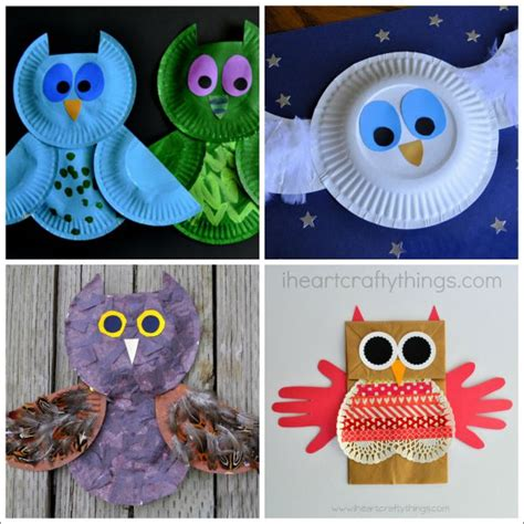 8 owl crafts for 674 | owl crafts for kids 3