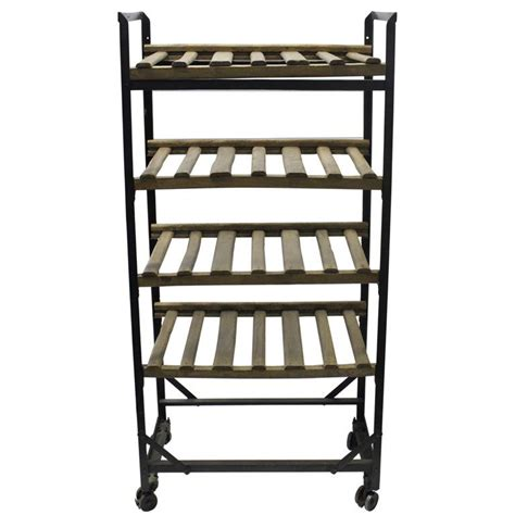 Rack Industrial by Industrial Style Wine Rack Home Furniture And