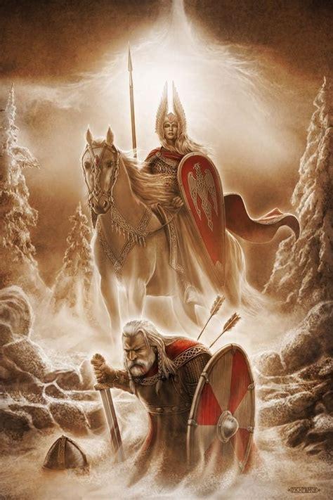 valhalla viking mythology valkyrie norse warrior fallen death vikings soldier norwegian norway