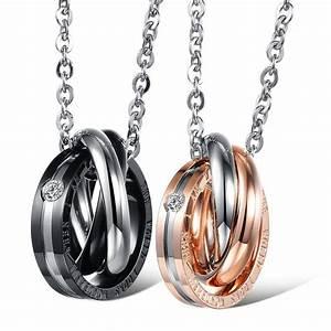 Edelstahl Ketten Meterware : 2x edelstahl partner ketten zirkonia ring anh nger p rchen kette gravur geschenk ebay ~ Eleganceandgraceweddings.com Haus und Dekorationen