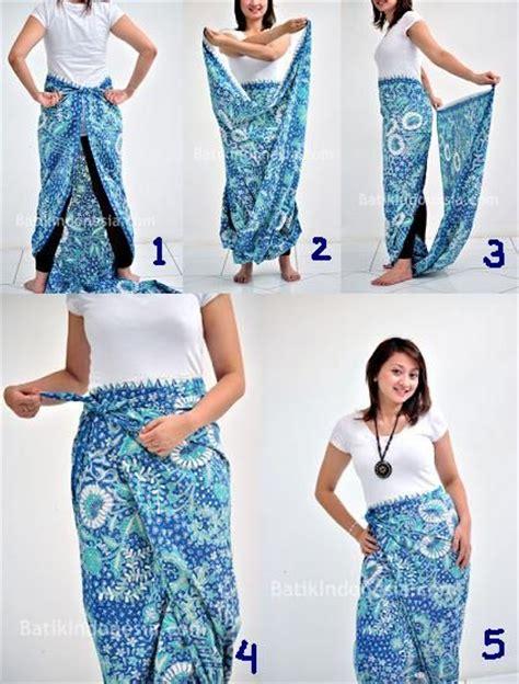 siminyun s story cara pakai kain batik sebagai rok batik tenun ikat indonesia