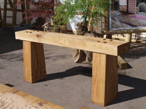 zen bench the oak framed zen garden