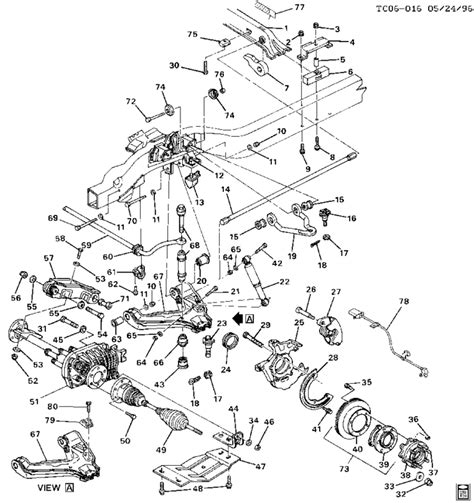 2004 Chevy Silverado Front End Part Diagram by Gmc 1 Ton Front End Diagram