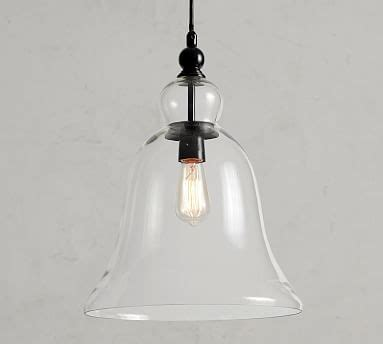 Pottery Barn Large Rustic Glass Pendant by Large Rustic Glass Indoor Outdoor Pendant Pottery Barn