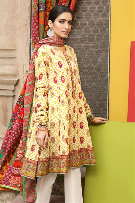Khaadi Latest Summer Lawn Dresses Designs Collection 20172018