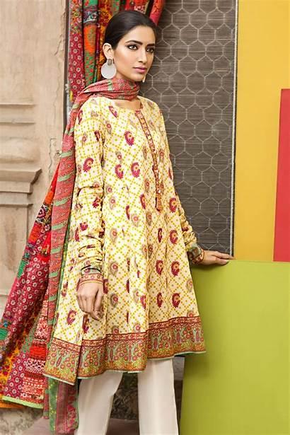 Lawn Summer Dresses Latest Khaadi Printed Designs
