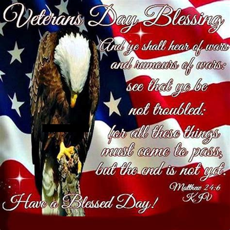 patriotic veterans day blessings quote pictures