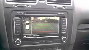 Camera De Recul Golf 7 : cam ra de recul sur le rns 510 volkswagen golf 6 gtd youtube ~ Nature-et-papiers.com Idées de Décoration