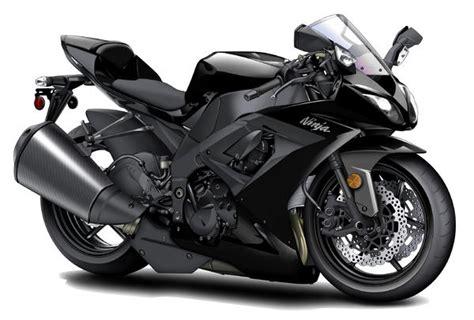 black motorbike kawasaki ninja black motorcycle greeting card for sale by