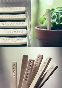 30 Diy Plant Label  U0026 Marker Ideas For Your Garden