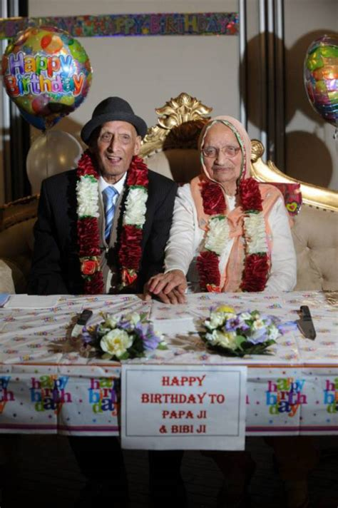 worlds oldest married couple karam chand aged