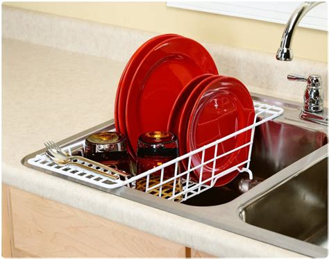 dish rack that fits in sink best over the sink dish drainer