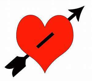 36+ Heart With Arrow Clip Art