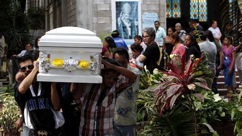 mexican activist murdered walking funeral procession