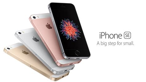 apple unveils new iphone se at t gophone adds the apple iphone se to device lineup