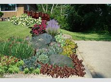 Rock Garden Designs For Front Yards Home Deco Plans