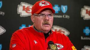 KC Chiefs Coach Andy Reid39s Challenge Flag Pulled From