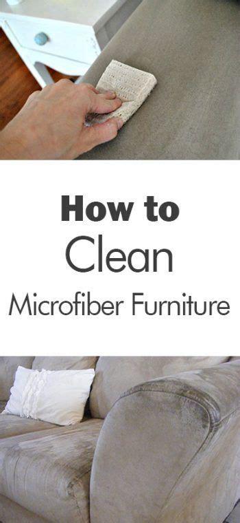 clean microfiber furniture  days