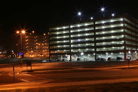 exterior parking lot and outdoor lighting solutions