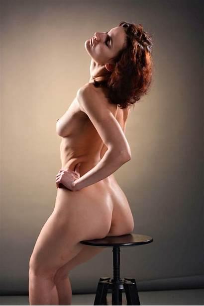 Russian Nude Models Misty Morning