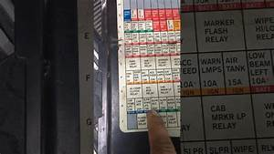 89 Kenworth T600 Fuse Panel Diagram