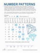 Number Patterns Treasure Hunt Worksheet Gallery For Math Number Patterns Worksheets Math Patterns Instant Worksheets Free Kindergarten Worksheets Spot The Patterns