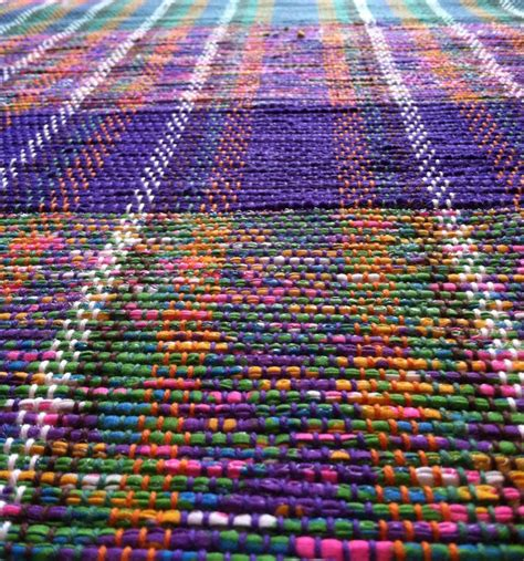 recycled plastic rugs these school rugs are woven out of plastic bags