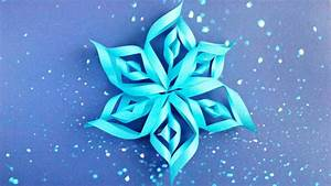 Modular 3d Origami Snowflake Tutorial Easy Instructions