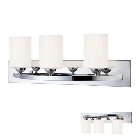 chrome  bulb bath vanity light bar fixture interior