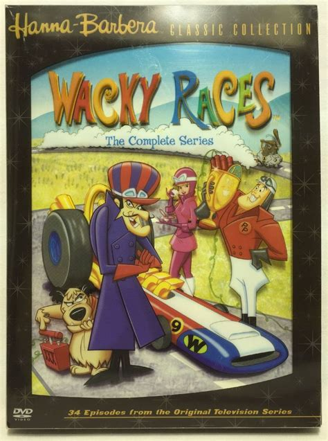 hanna dvd barbera wacky races cartoons series complete saturday morning classic disc collection collecti film 2004 christmas