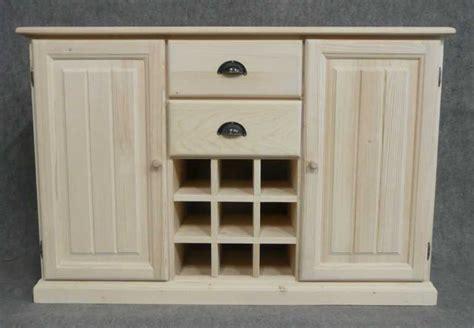 Porte De Cuisine En Bois Brut - meuble bas cuisine bois massif le bois chez vous