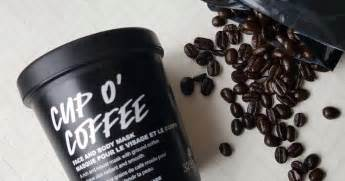 Althans, overal lees ik weer iets anders. Earth Day Skincare Saturday - Lush Cup O' Coffee Mask Review and A Look At Lush's Environmental ...