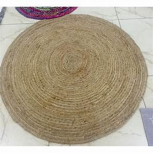 tapis rond en jute naturelle tresse track by drawer With tapis rond en jute