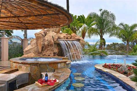Backyard Built by 33 Mega Impressive Swim Up Pool Bars Built For