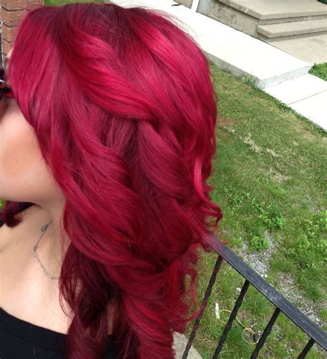 Perfect Red Hair Loreal Hi Color Magenta With A