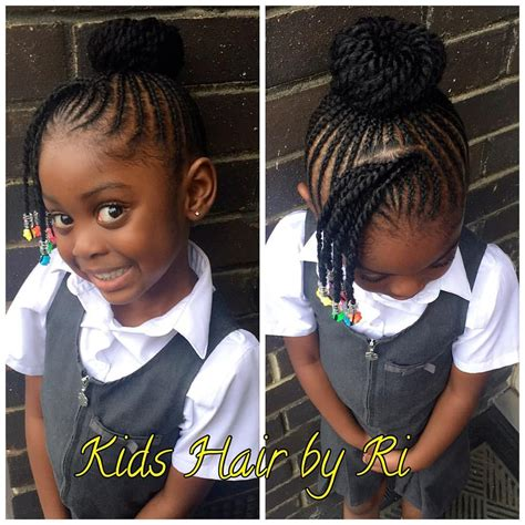Kid Hairstyles For School by Pin By Josephine Dousuah On Kid Conrows Hair Styles