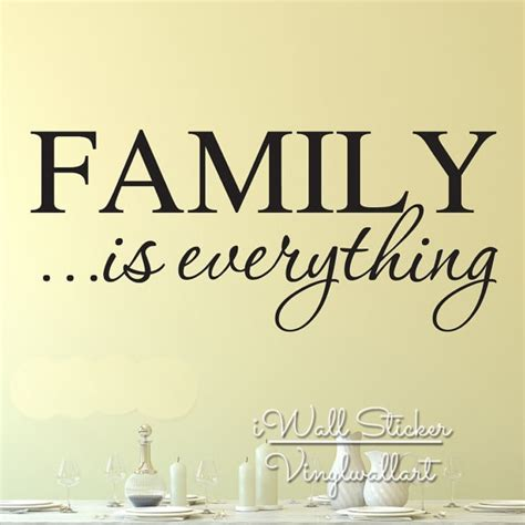 family   quote wall sticker family quote wall