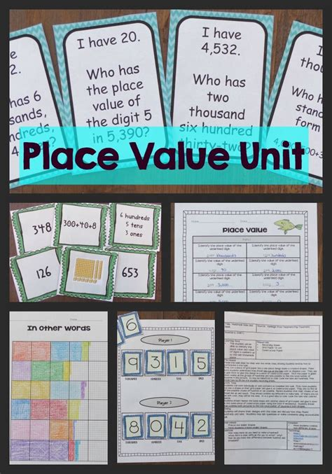 this place value unit has everything you need to teach
