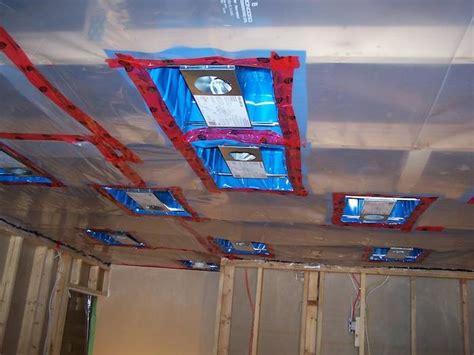 how to install a ceiling fan box how to install poly vapor barrier