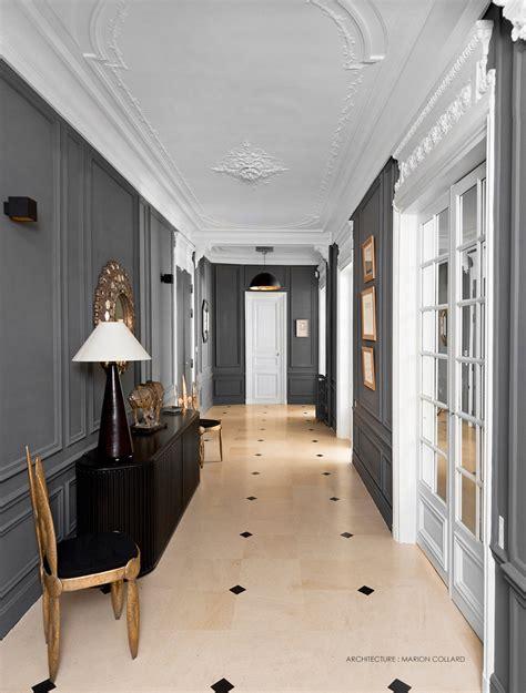 déco salon blanc dans appartement haussmannien inspiration appartement haussmanien gallart