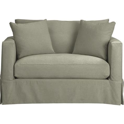 crate and barrel willow sofa willow sleeper sofa