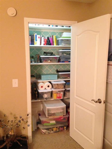 Closet Organization Ideas For Crafts by 98 Best Small Closets Images On Walk In