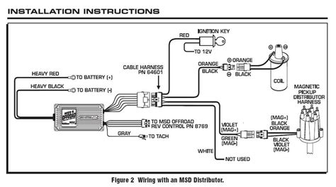 Toyotum 20r Msd Ignition Wiring Diagram by 6470 Mag Blaster Coil Msd