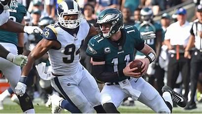 Eagles Rams Vs Wentz Carson Week Wings
