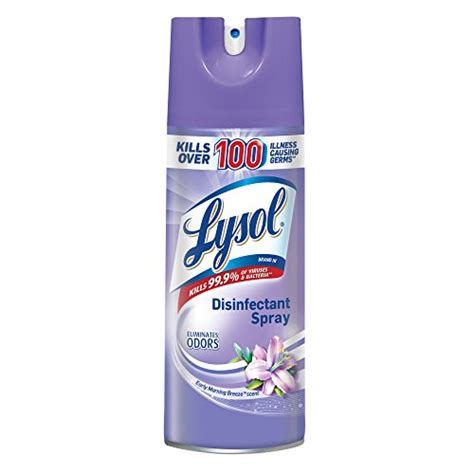Lysol Disinfectant Spray, Early Morning Breeze, 12.5 oz