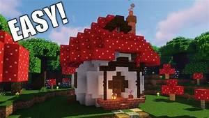 How, To, Build, A, Mushroom, Starter, House, Building, Tutorial