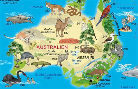 australien rundreise karte