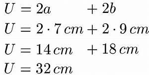 Gestreckte Länge Berechnen Beispiele : rechteck umfang ~ Themetempest.com Abrechnung
